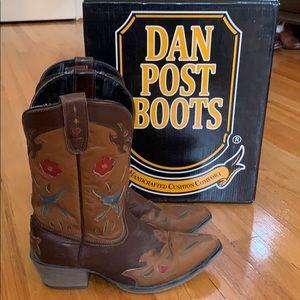 Girls Dan Post BlueBird Leather Boots